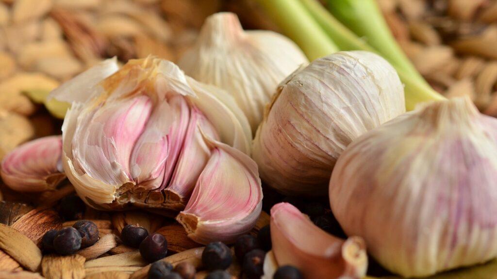 Eat more garlic!