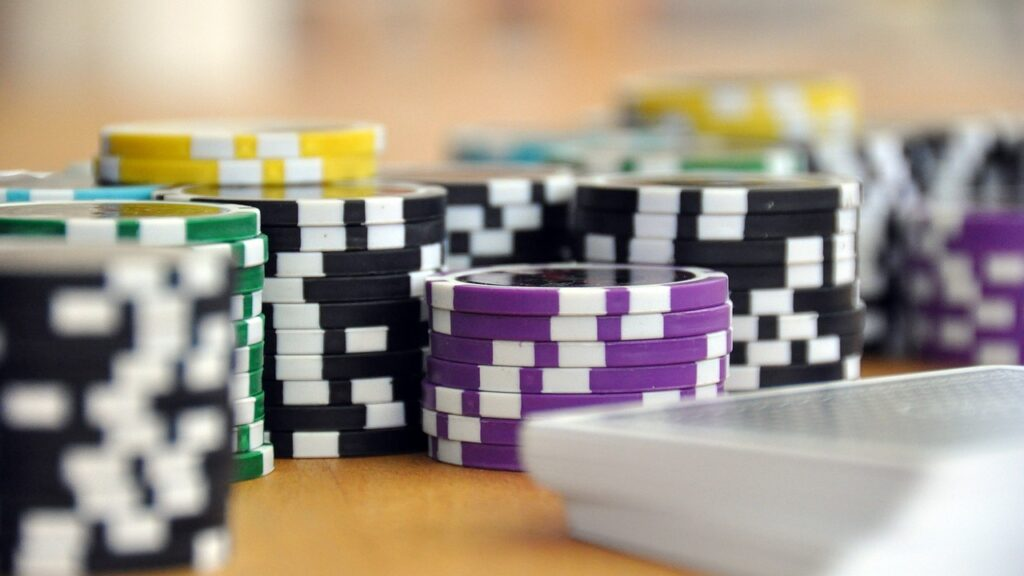 Play casino games at home